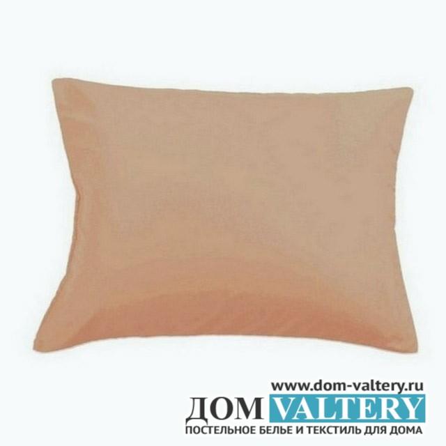 Наволочки Valtery NC-03 тёмно-бежевые (размер 50х70 см)