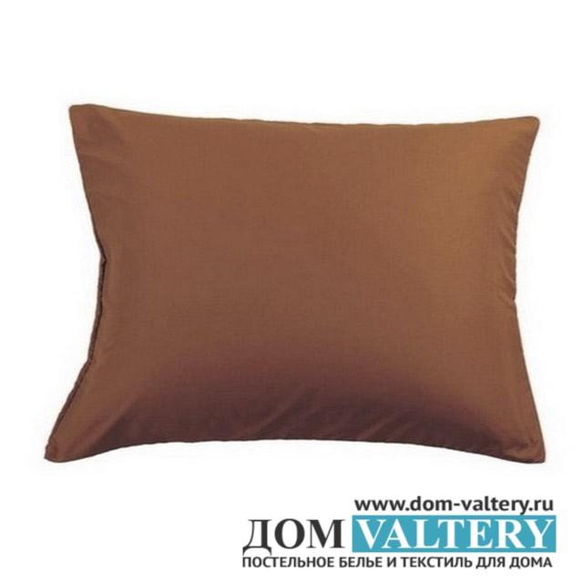 Наволочки Valtery NC-04 шоколадные (размер 50х70 см)