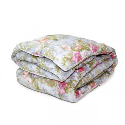 Одеяло бамбук классическое цветное (размер 140х205 см)