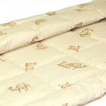 Одеяло верблюжья шерсть ЛЮКС (размер 140х205 см)