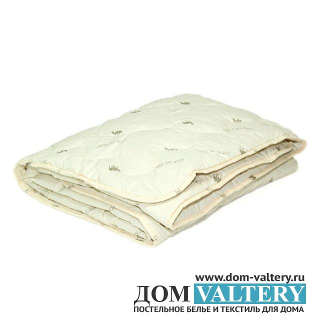 Одеяло верблюжья шерсть ЛЮКС облегченное (размер 140х205 см)