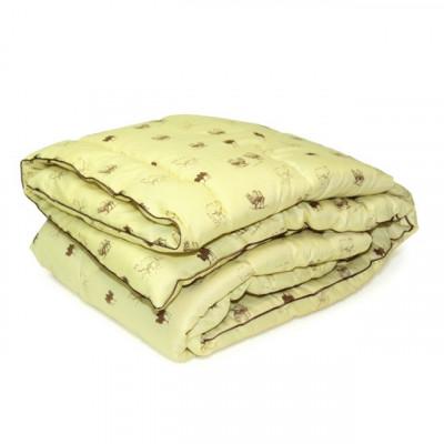 Одеяло верблюжья шерсть микрофибра (размер 200х220 см)