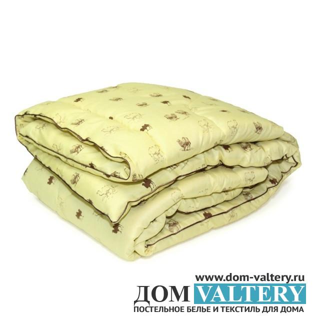 Одеяло верблюжья шерсть микрофибра (размер 140х205 см)