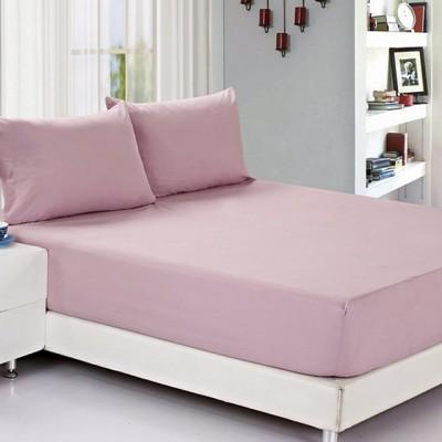Простыня на резинке джерси розовая (размер 140х200)