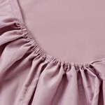 Простыня на резинке джерси розовая (размер 180х200)