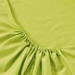 Простыня на резинке джерси салатовая (размер 140х200)