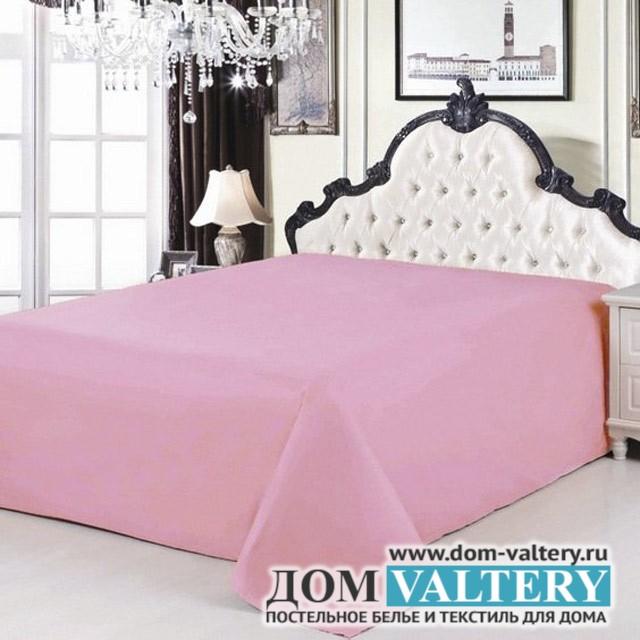 Простыня сатин розовая (размер 220х240 см)