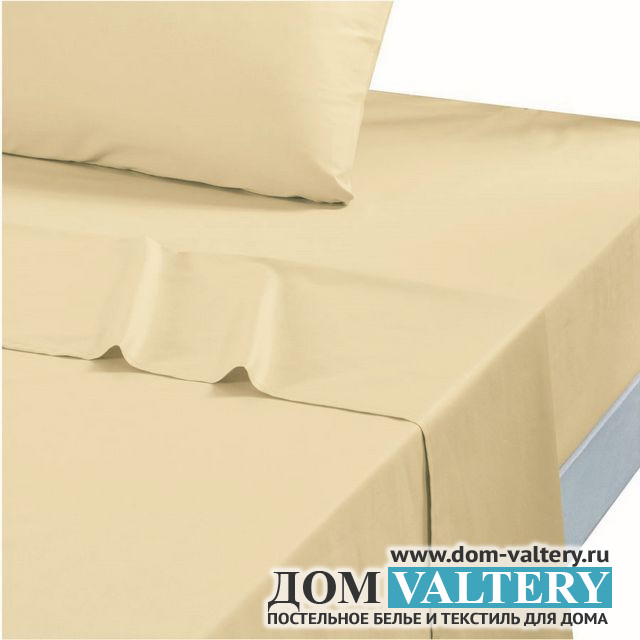 Простыня сатин Valtery PRC-54 классическая (160х220 см)